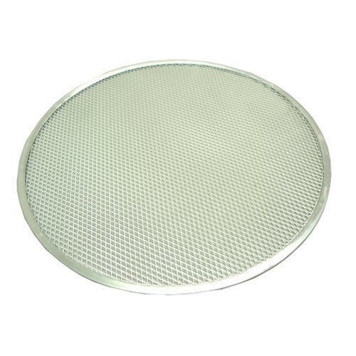 11'' Seamless Pizza Screen, Alu, Set of 6 by Winco