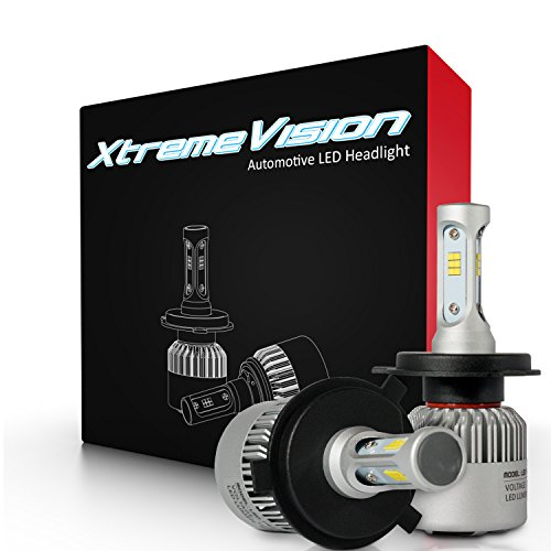 XtremeVision 7G 72W 16,000LM - H4/9003 Dual Beam - 2004 Eclipse Body Kit