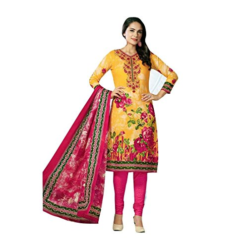 Readymade Ethnic Indian Cotton Printed Salwar Kameez Suit Pakistani Dress