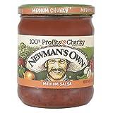 Newman's Own Medium Salsa, 16 Ounce