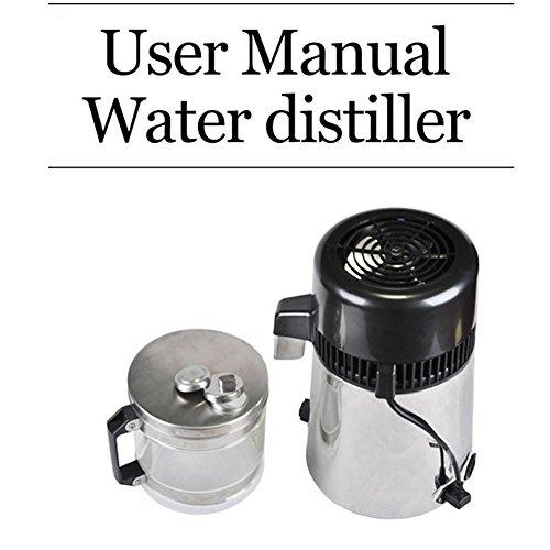 OLizee 304 Stainless Steel Water Distiller Water Purifier Pure Water (Distiller Collection)
