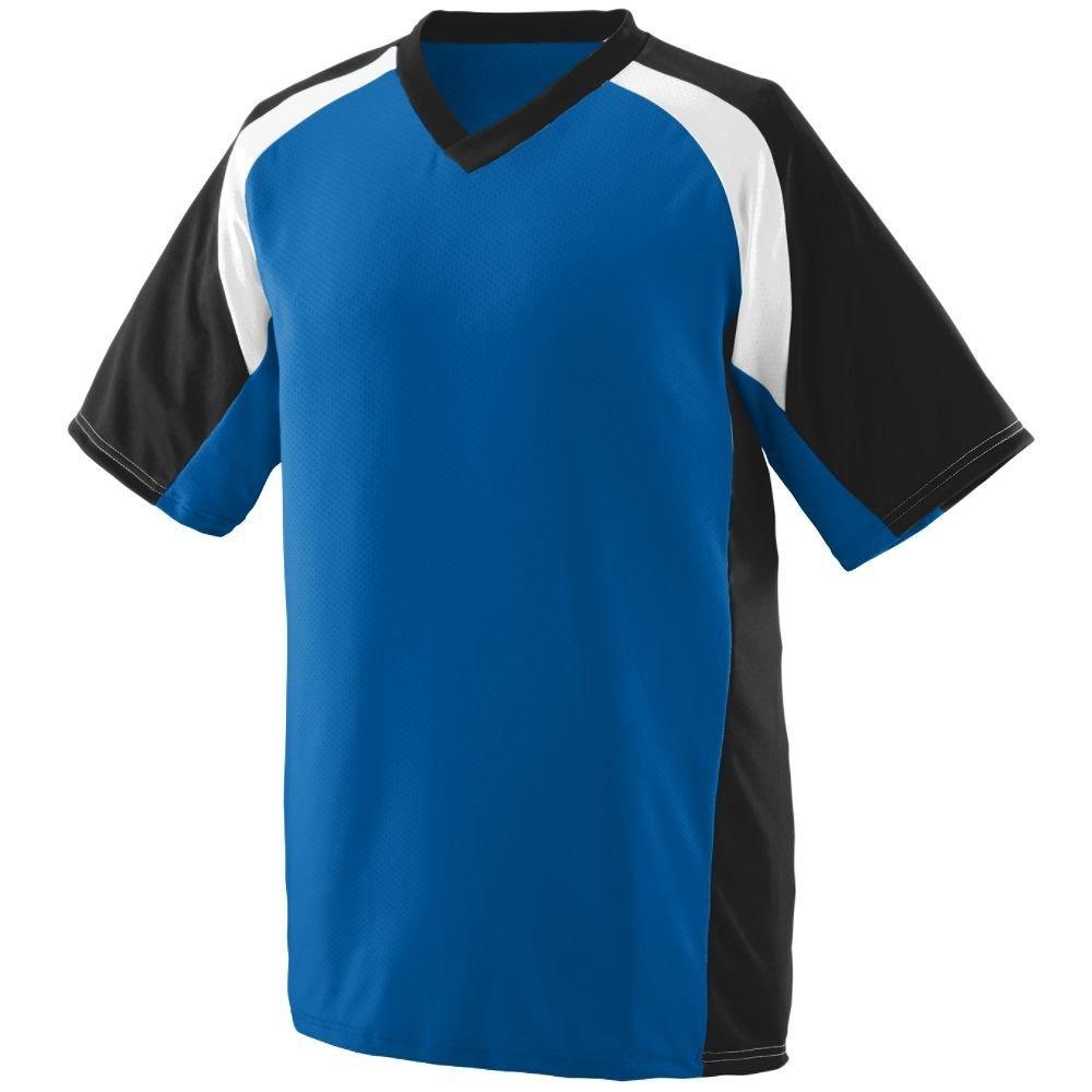 Augusta Sports Mod Camo Game Jersey Medium Youth Purple//Graphite//White