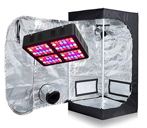 TopoLite LED 600W Full Spectrum Grow Light + 24