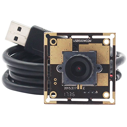 ELP 2.1mm Wide Angle Mjpeg 5megapixel Hd Camera USB for Industrial,camera Module Usb Machine (Mjpeg Usb)