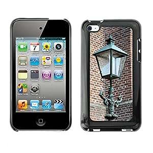 Etui Housse Coque de Protection Cover Rigide pour // M00151437 Linterna de la calle antigua de Luz // Apple ipod Touch 4 4G 4th