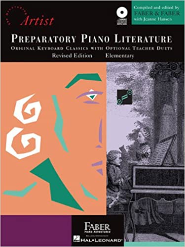 preparatory piano literature origianl keyboard classics with optional teacher duets elementary developing artist