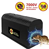 Big-Fun Electronic Mouse Rodent Traps, High Voltage Emitting,Effective Powerful Kill Solution for Rat, Squirrels Mice and Similar Rodents Pest Deratization