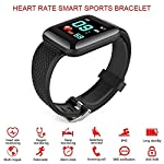Heles Smart Watch D-116 Plus Smart Watch Bracelets Fitness Tracker Heart Rate Step Counter Activity Monitor Band…