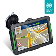 [Patrocinado] GPS Navigation for Car, 7 Inch 8GB HD Touch Screen Built-in 256MB GPS Navigation System Spoken Turn-by-Turn Directions for Car Vehicle GPS Navigator with Lifetime Map Update