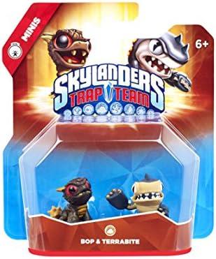 Skylanders: Trap Team - Minis 2. Pack 4 (Bop, Terrabite): Amazon ...
