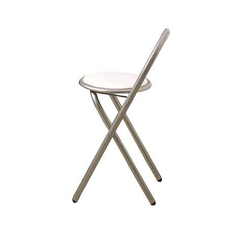 SACKDERTY Juego de 2 sillas de Mesa de Comedor Plegables ...