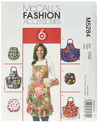 McCall's Patterns M5284 Aprons, All (Mccall Apron)