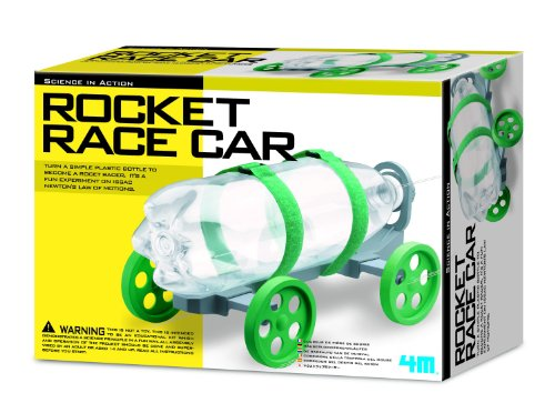 4M Rocket Race Car Kit (Kit Car Rocket Science)