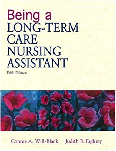 Being a long term care nursing assistant 5th edition being a long term care nursing assistant 5th edition 5th edition fandeluxe Images
