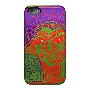 Excellent Cell-phone Hard Cover For Apple Iphone 6s Plus With Customized High-definition Grateful Dead Band Skin Icase88