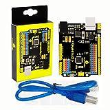 KEYESTUDIO Development Board for Arduino Controller R3 ATmega328P ATMEGA16U2 with USB Cabl, 1A Drive Current