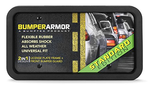 BumperArmor (Standard Edition) - Heavy Duty Front Bumper Guard. Biggest & Toughest Flexible Rubber Front Bumper Protector ! (Std Rear Bumper)