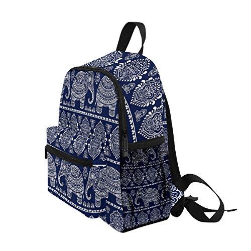 ZZKKO nbsp;Bag nbsp;for Boys nbsp;Book Animal Tribal nbsp;School nbsp;Backpack nbsp;Girls Elephant Kids nbsp;Toddler rCrHq