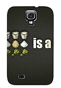 Crazinesswith Series Skin Case Cover Ikey Case For Galaxy S4(portal)
