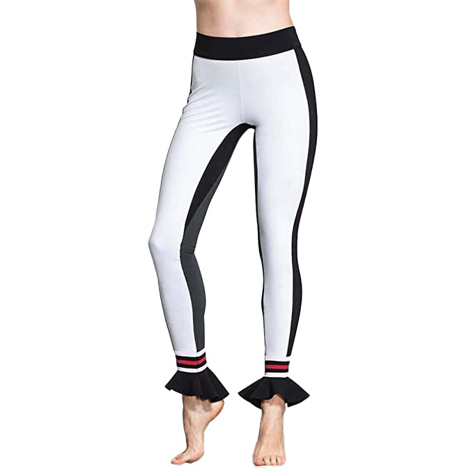 Amazon.com: kemilove Womens Capri Yoga Pants Exercise ...