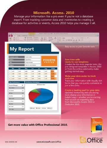 Microsoft office access 2010 greatly discounted price