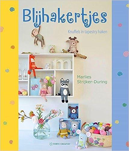Amazoncom Blijhakertjes Knuffels In Tapestry Haken Dutch Edition