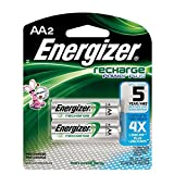 Energizer Recharge AA Batteries, 20/Pkg