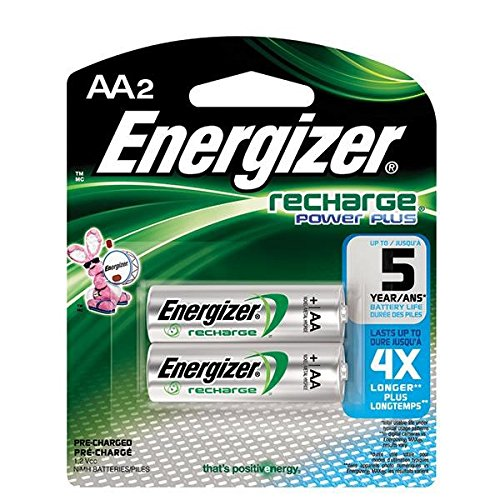 Energizer Recharge AA Batteries, 34/Pkg by VOXX ACCESSORIES CORP