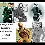 Suéteres de abrigo Vintage – patrones de mallas para suéteres de capa (Spanish Edition)