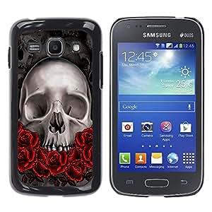 King Case - FOR Samsung Galaxy Ace 3 - Skull Devil Pattern - Caja protectora de pl??stico duro Dise?¡Àado