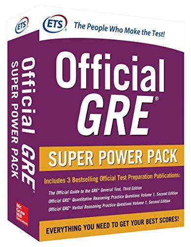 Official GRE Super Power Pack 2/E (Test Prep)