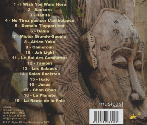 alpha blondy cds para