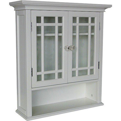 Wooden Storage Cabinet A 2-Door Discount White Wood Wall