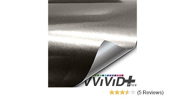1//2ft x 5ft Matte Demon Black Premium Vinyl Wrap Film VViViD
