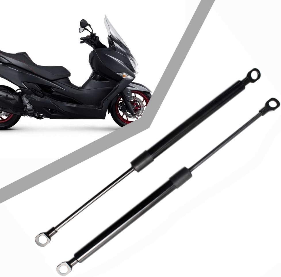 Black JINGLINGKJ PM1068 0515WI 4527005H01 2007-2016 Suzu-ki Burgman 400 Seat Adjuster Lifting Arm Shock Rear Liftgate Gas Charged Gas Struts 2Pcs