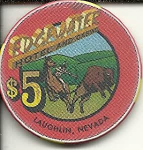 Amazon Com 5 Edgewater Horse Laughlin Nevada Casino Chip