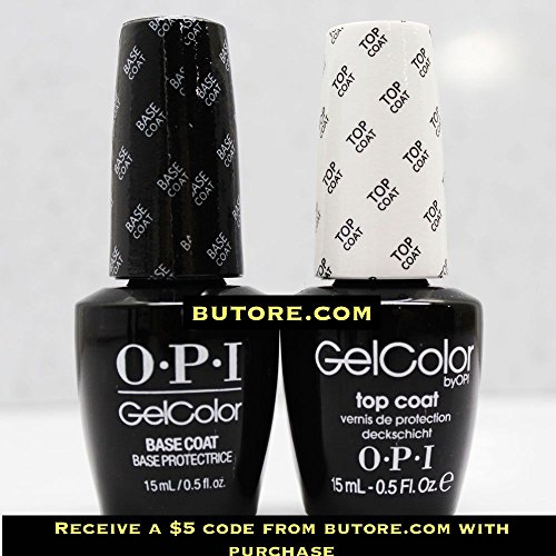 Gel Base + Top Coat +$5 Coupon Voucher
