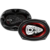 BOSS Audio CH6950 600 Watt (Per Pair), 6 x 9 Inch, Full Range, 5 Way Car Speakers (Sold in Pairs)