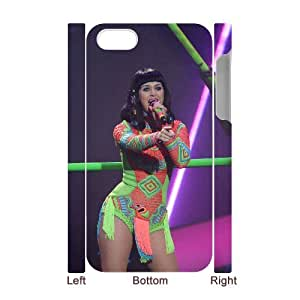 HOPPYS Diy hard Case Katy Perry customized 3D case For Iphone 4/4s