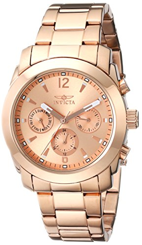 Invicta Women's 17902 Angel Analog Display Swiss Quartz Rose Gold Watch ()
