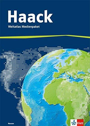 Der Haack Weltatlas. Ausgabe Hessen Sekundarstufe I und II: Medienpaket aus Weltatlas, Übungssoftware und Arbeitsheft Kartenlesen mit Atlasführerschein Klasse 5-13