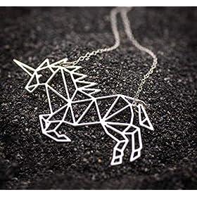 - 517TduwyiRL - VLalin Unicorn Gift Set Unicorn Purse/Necklace/Lace Choker/Keychain/Head Clip/Headband