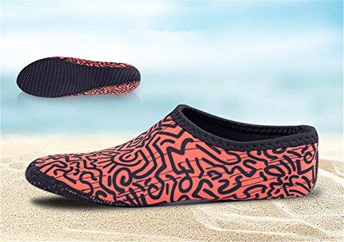 Immersione Adulti Uomini Juleya Yoga Scoglio Snorkeling di Spiaggia Esercizi da da Scarpe Surf Bagno Scarpette 4 Donna Corsa Scarpe Unisex Mare da ZIqInfOS