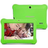 Alldaymall Nuevo Tablet para niños de 7 pulgadas 8GB Quad Core, Android 5.1, 1GB RAM, Wi-Fi, Bluetooth (3rd Generación) (verde)