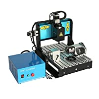 JFT 3040 600w+ 4 Axis +Usb Port +Mach 3 CNC Router /Carving/engraving Machine (4 Axis +600W)