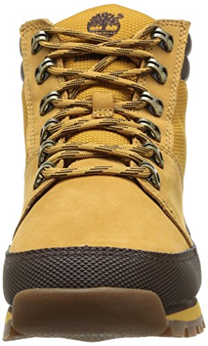 Uomo Timberland Hiker Sneaker Ek Leather Sprint And Fabric Wheat Jaune 1B0q4