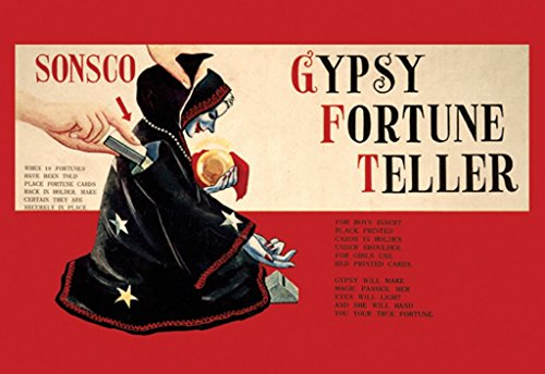 ArtParisienne Gypsy Fortune Teller No. 2 12x18 Poster