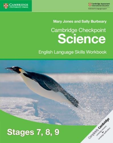 Cambridge Checkpoint Science English Language Skills Workbook Stages 7, 8, 9 by Cambridge University Press
