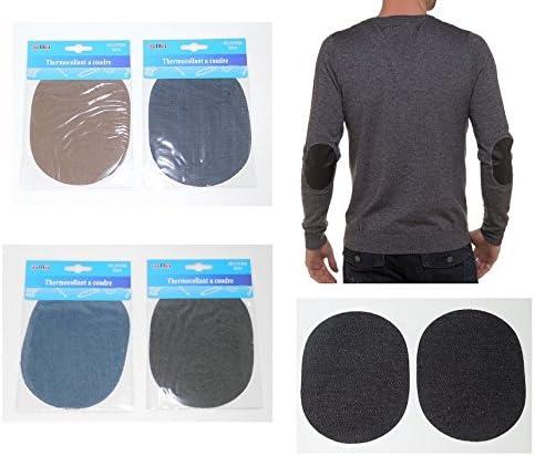 Lot 2 escudo termoadhesiva de coser ropa codo rodilla – aleatorio ...