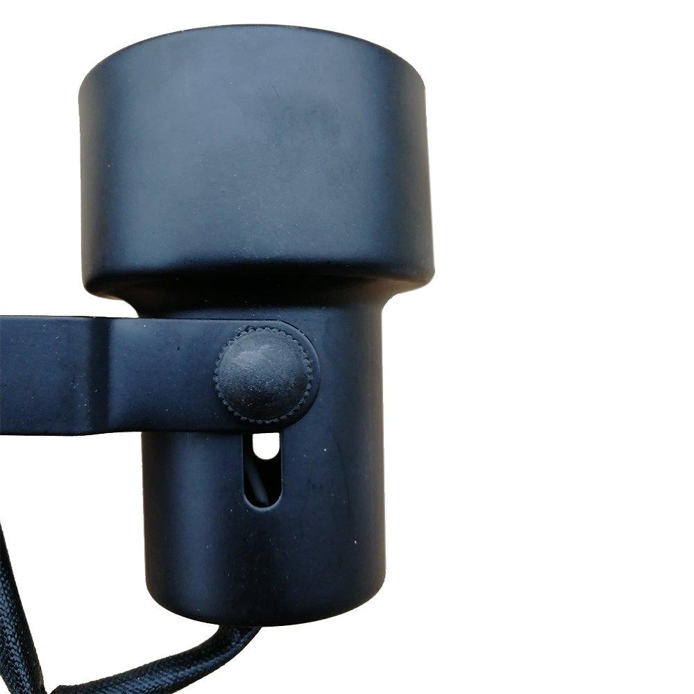 King SHA Universal LED Track Lighting Heads with MR16 GU10 led Spotlight Bulb 50W Halogen Equivalent 3000k Black by KING SHA (Image #4)